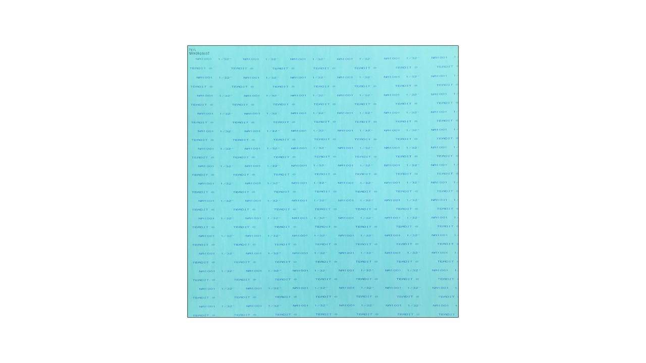Teadit NA1001 Green Aramid Fibers/NBR Non-Asbestos Compressed Sheet ...