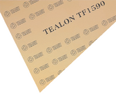Teadit Style TF1590 Fawn Structured PTFE Tealon Sheet, Dimensions: Length: 12 Inches (30.48Cm), Width: 12 Inches (30.48Cm), Thickness: 1/8(0.125) Inches (0.3175Cm) Part Number: TF1590.12512X12