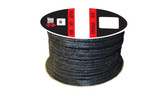 Teadit Style 2001 Graphite Yarn, Graphite Filled Packing,  Width: 1/4 (0.25) Inches (6.35mm), Quantity by Weight: 1 lb. (0.45Kg.) Spool, Part Number: 2001.250x1