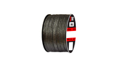Teadit Style 2002 Carbon Yarn, Graphite Filled Packing,  Width: 7/8 (0.875) Inches (2Cm 2.225mm), Quantity by Weight: 10 lb. (4.5Kg.) Spool, Part Number: 2002.875x10