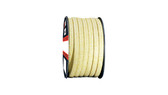 Teadit Style 2004 Braided Packing, Aramid Yarn, PTFE Impregnated Packing,  Width: 1 (1) Inches (2Cm 5.4mm), Quantity by Weight: 10 lb. (4.5Kg.) Spool, Part Number: 2004.100x10