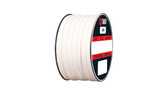 Teadit Style 2005 Braided Packing, PTFE Yarn, Dry Packing,  Width: 7/8 (0.875) Inches (2Cm 2.225mm), Quantity by Weight: 1 lb. (0.45Kg.) Spool, Part Number: 2005.875x1