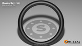 O-Ring, Black BUNA/NBR Nitrile Size: 905, Durometer: 90 Nominal Dimensions: Inner Diameter: 12/29(0.414) Inches (1.05156Cm), Outer Diameter: 24/43(0.558) Inches (1.41732Cm), Cross Section: 1/14(0.072) Inches (1.83mm) Part Number: OR90BLKBUN905