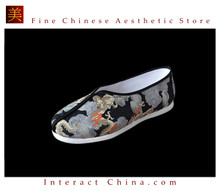 Kung Fu Martial Arts Tai Chi Shoes Deluxe Hand Sew Sole Soft Cushion #407