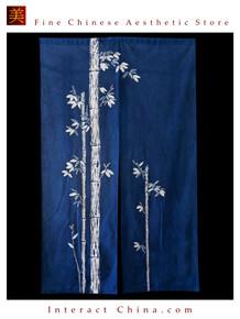"100% Handcraft Batik All Cotton Drape Door Panel Curtain 43x69"" Wall Hanging #107"