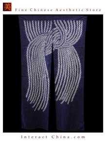 "100% Handcraft Batik All Cotton Drape Door Panel Curtain 33x59"" Wall Hanging #109"