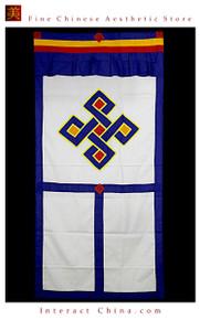 """100% Handcraft Cotton Tibetan Drape Door Panel Curtain 35x71"""" Wall Hanging #101"""