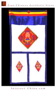 """100% Handcraft Cotton Tibetan Drape Door Panel Curtain 39x75"""" Wall Hanging #102"""