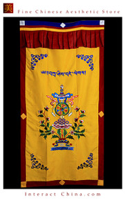"""100% Handcraft Cotton Tibetan Drape Door Panel Curtain 35x71"""" Wall Hanging #103"""