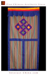 """100% Handcraft Cotton Tibetan Drape Door Panel Curtain 35x71"""" Wall Hanging #106"""