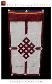 """100% Handcraft Cotton Tibetan Drape Door Panel Curtain 35x71"""" Wall Hanging #113"""