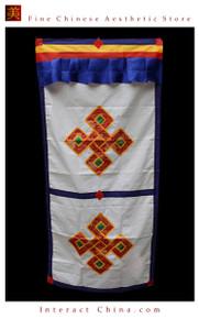 """100% Handcraft Cotton Tibetan Drape Door Panel Curtain 35x71"""" Wall Hanging #115"""