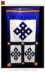 """100% Handcraft Cotton Tibetan Drape Door Panel Curtain 35x71"""" Wall Hanging #117"""