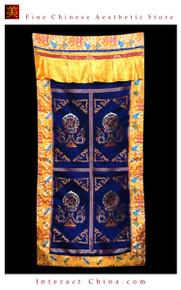 """100% Handcraft Cotton Tibetan Drape Door Panel Curtain 35x71"""" Wall Hanging #119"""