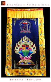 """100% Handcraft Cotton Tibetan Drape Door Panel Curtain 35x71"""" Wall Hanging #120"""