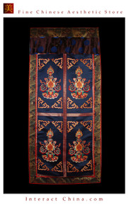 """100% Handcraft Cotton Tibetan Drape Door Panel Curtain 35x71"""" Wall Hanging #123"""