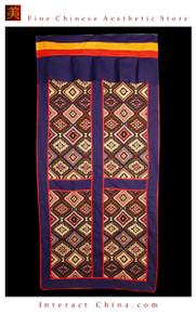 """100% Handcraft Cotton Tibetan Drape Door Panel Curtain 35x71"""" Wall Hanging #124"""