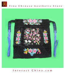 Flowery Mei Tai Baby Carrier 100% Handmade Art Front Back Sling Wrap Podaegi #126