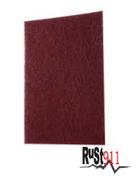 "maroon abrasive pad 6"" x 9"""