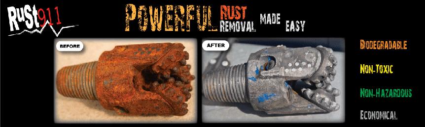 Rust911 drill bit