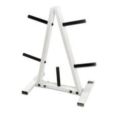 CAP Barbell Standard Plate Rack, Black and White