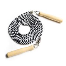 CAP Barbell Adjustable 9' Cotton Rope w/ Wooden Handle