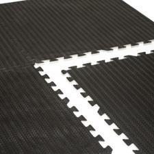 CAP Barbell 6-pcs Heavy Duty Foam Tile Flooring w/Tire thread design