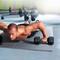 CAP Barbell 6-pcs Heavy Duty Foam Tile Flooring w/Tire thread design, featured in gym setting