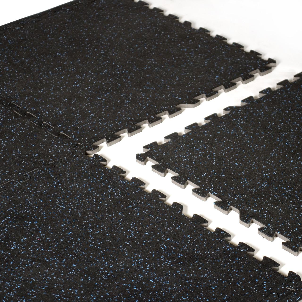 Cap Barbell 6 Pcs Foam Tile Flooring W Recycled Rubber Top