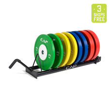 The Competitor - 320lb Competition Bumper Plate Set
