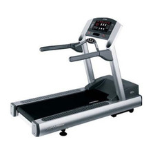 Angled view of Life Fitness 95Ti Treadmill (Remanufactured)