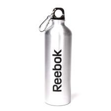 Reebok Aluminum Water Bottle with Carabiner, 750 mL