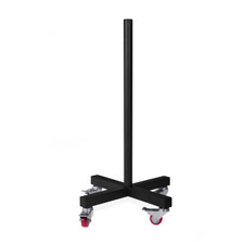 Vertical Plate Storage Rack with Wheels