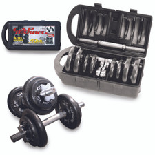 CAP Barbell 40lb Adjustable Dumbbell Set with Case