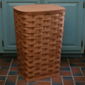 Peterboro Tall Waste Basket / Laundry Hamper