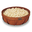 Peterboro Popcorn Bowl Basket with Plastic Protector
