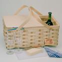 Peterboro Deluxe Vineyard Picnic Basket