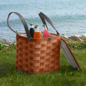 Peterboro Personal Cooler with Genuine Leather Straps