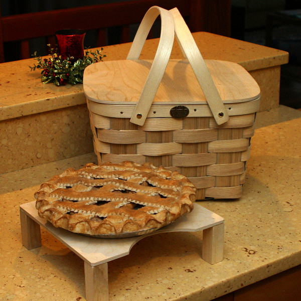Peterboro Two Pie With Solid Lid And Tray