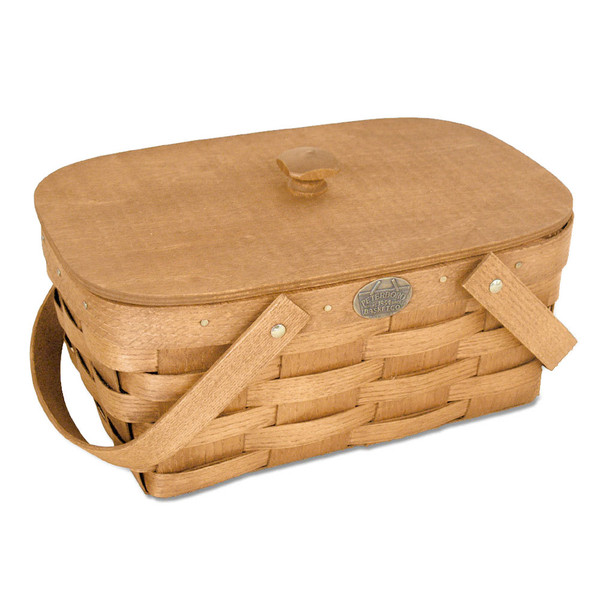 Peterboro Personal Tote with Wood Knob