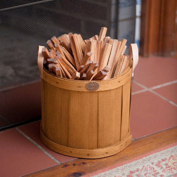 Peterboro Mantel Storage Basket