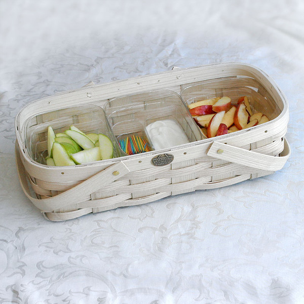Peterboro Three Compartment Food Safe Tote