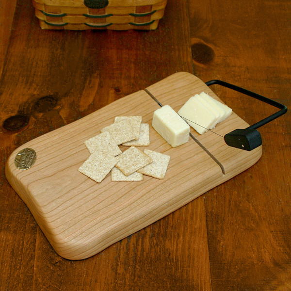 Peterboro Cherry Wood Wire Cheese Cutter
