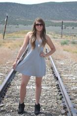 Cross My Heart Strappy Back Dress