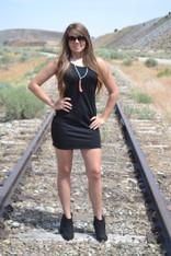 Little Black Strappy Dress