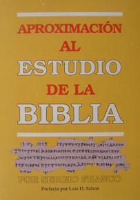 Aproximación al estudio de la Biblia