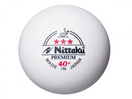 Nittaku Premium 40+ *** (12 Competition Table Tennis Balls)