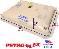 150 Gallon Petro-Flex With Filled Dimensions