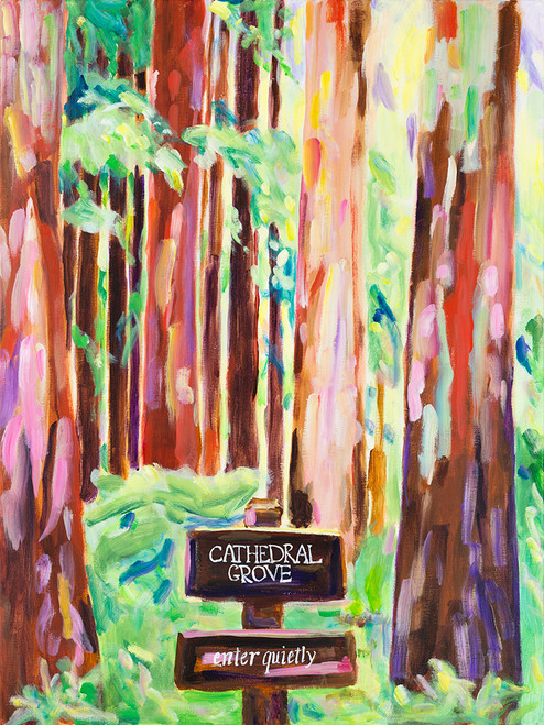 Cathedral Grove Print