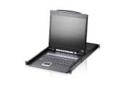"ATEN CL1308N: 8-Port 19"" LCD Integrated USB/PS2 Combo KVM"